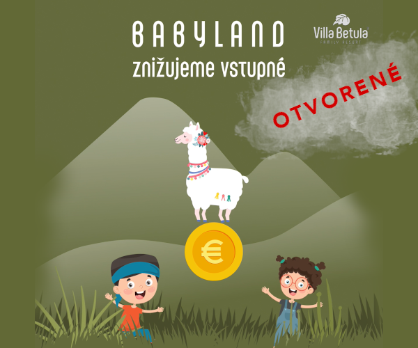 Reduced prices of Babyland